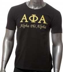 View Buying Options For The Alpha Phi Alpha 3D Embroidered Signature Mens T-Shirt