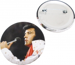 View Buying Options For The Elvis Presley Aloha Button Pin [Pre-Pack]