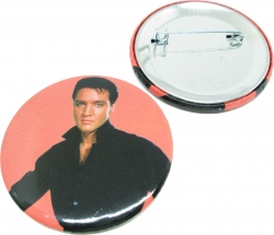 View Buying Options For The Elvis Presley Black Shirt Button Pin [Pre-Pack]