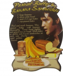 View Buying Options For The Elvis Presley Peanut Butter and Banana Magnet [Pre-Pack]