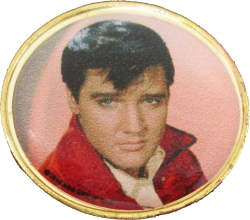 View Buying Options For The Elvis Presley Burning Love Lapel Pin
