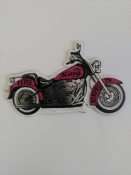 View Buying Options For The Elvis Presley Pink Motorcycle Magnet [Pre-Pack]