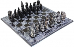 View Buying Options For The African Soapstone Square Chess Set