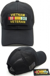 View Buying Options For The Vietnam Veteran Ribbons Patch Meshback Mens Cap