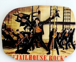 View Buying Options For The Elvis Presley Jailhouse Rock Pole Magnet [Pre-Pack]