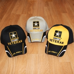 View Buying Options For The U.S. Army Star Veteran w/Mesh Stripes Mens Cap