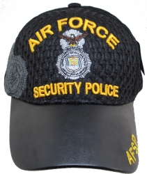 View Buying Options For The Air Force Security Police Shadow Vinyl Bill Mens Air Mesh Cap