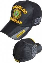 View Buying Options For The Disabled Army Veteran Shadow Jersey Mesh Mens Cap