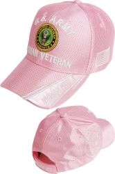 View Buying Options For The U.S. Army Woman Veteran Shadow Jersey Mesh Ladies Cap