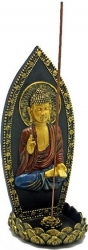 View Buying Options For The Buddha and Lotus Incense Stick & Cone Burner