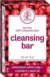 View Buying Options For The Amazonian White Clay + Cranberry Seed Oil Dye Free Cleansing Bar Soap