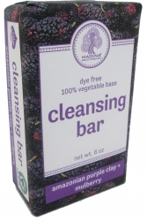 View Buying Options For The Amazonian Purple Clay + Mulberry Dye Free Cleansing Bar Soap
