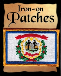 View Buying Options For The West Virginia State Flag Iron-On Patch [Pre-Pack]