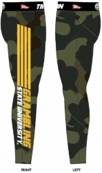 View Buying Options For The Tradition Grambling State Tigers Camo Ladies Leggings