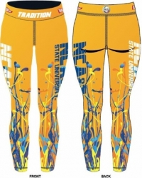 View Buying Options For The Tradition North Carolina A&T State Aggies Splat Ladies Leggings