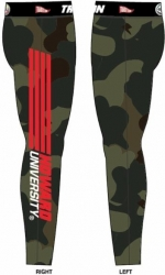 View Buying Options For The Tradition Howard Bison Camo Ladies Leggings