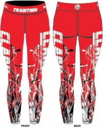 View Buying Options For The Tradition Clark Atlanta Panthers Splat Ladies Leggings
