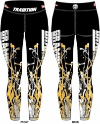 View Buying Options For The Tradition Grambling State Tigers Splat Ladies Leggings
