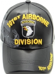 View Buying Options For The 101st Airborne Division Shadow Vinyl Leather Mens Cap