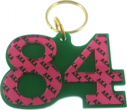 View Buying Options For The Alpha Kappa Alpha Color Mirror Line #84 Keychain