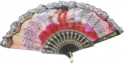 View Buying Options For The Elvis Presley Aloha Lace Retractable Accordion Style Hand Fan
