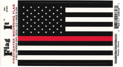 View Buying Options For The United States Thin Line Flag Car Decal Sticker [Pre-Pack]