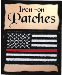 View Buying Options For The United States Thin Line Flag Iron-On Patch [Pre-Pack]