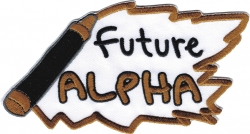 View Buying Options For The Alpha Phi Alpha Future Alpha Iron-On Patch