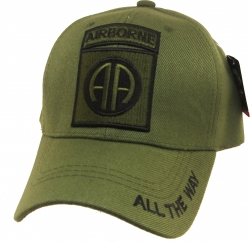 View Buying Options For The 82nd Airborne All The Way Tone-On-Tone Mens Cap