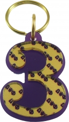 View Buying Options For The Omega Psi Phi Color Mirror Line #3 Keychain