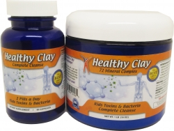 View Buying Options For The MineCeuticals Healthy Oregon Blue Clay Complete Detox Cleanse Capsules and Bath Powder Pack