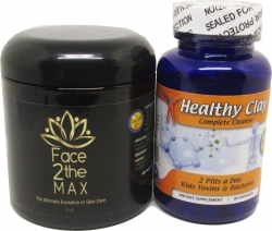 View Buying Options For The MineCeuticals Healthy Oregon Blue Clay Capsules & Face2theMAX Pack