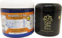 View Buying Options For The MineCeuticals Healthy Oregon Blue Clay Bath Powder & Face2theMAX Pack