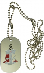 View Buying Options For The Kappa Alpha Psi Double Sided Dog Tag