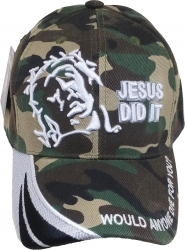 View Buying Options For The Jesus Did It Wave Bill Mens Cap