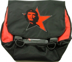 View Buying Options For The Che Guevara Face Red Star Courier Messenger Bag