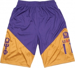 View Buying Options For The Big Boy Omega Psi Phi Divine 9 Mens Basketball Shorts