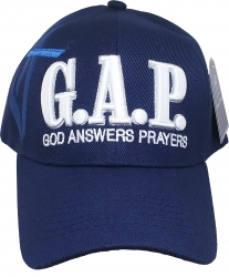 View Buying Options For The G.A.P. God Answers Prayers Shadow Mens Cap