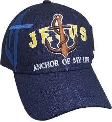 View Buying Options For The Jesus Anchor of My Life Mens Cap