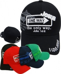 View Buying Options For The Jesus The Only Way Shadow Mens Cap