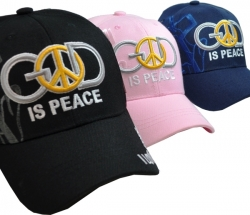 View Buying Options For The God Is Peace Shadow Mens Cap