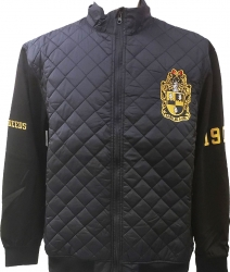 View Buying Options For The Buffalo Dallas Alpha Phi Alpha Fraternity On Court Mens Jacket