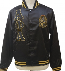 View Buying Options For The Buffalo Dallas Alpha Phi Alpha Fraternity Mens Satin Jacket