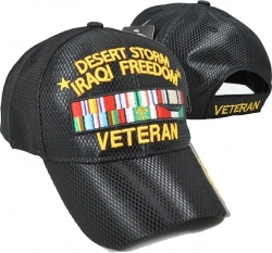 View Buying Options For The Desert Storm Iraqi Freedom Veteran Jersey Mesh Mens Cap