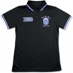 View Buying Options For The Big Boy Zeta Phi Beta Divine 9 S5 Ladies Polo Shirt