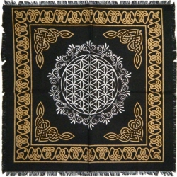 View Buying Options For The Flower of Life Altar Cloth