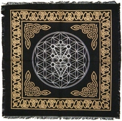View Buying Options For The Kabbalah Tree of Life Altar Cloth
