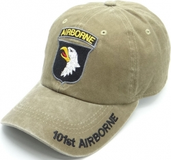 View Buying Options For The 101st Airborne Pigment Washed Cotton Mens Cap
