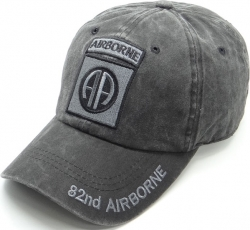 View Buying Options For The 82nd Airborne Pigment Washed Cotton Mens Cap
