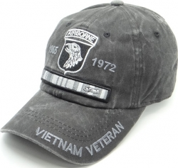 View Buying Options For The 101st Airborne Vietnam Veteran Pigment Washed Cotton Mens Cap